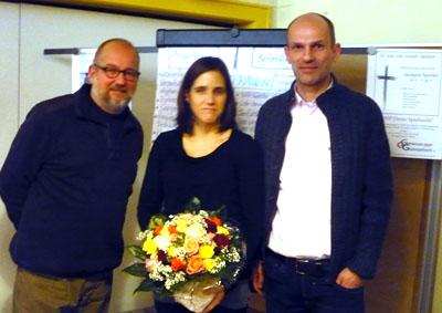 Kai Sender, Katja Sobotta und Thomas Bulmahn (von links)