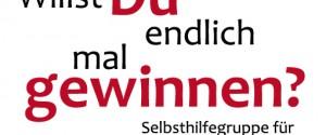 Der aktuelle Flyer der Selbsthilfegruppe Gemeinsam gegen Glücksspielsucht aus Bremen.